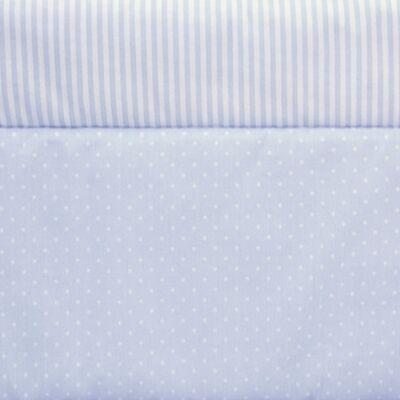 Rácsvédő – kék pöttyös-csíkos