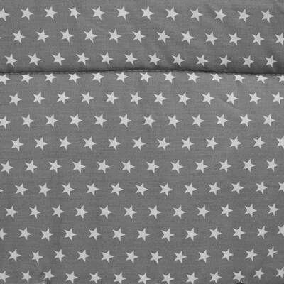 Rácsvédő – szürke-fehér csillagos